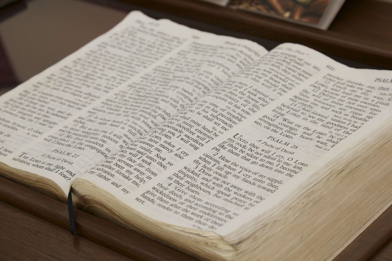 What we believe - The Bible
